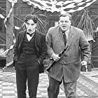 Charles Chaplin and Ford Sterling in Tango Tangle (1914)