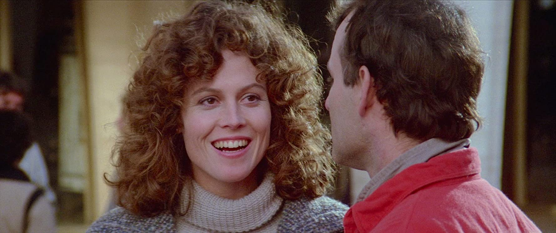 Bill Murray and Sigourney Weaver in Ghost Busters 1984