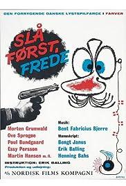 Strike First Freddy Poster
