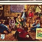 Gene Autry, Smiley Burnette, Art Davis, Earle Hodgins, Jack Kirk, Frankie Marvin, and Wes Warner in The Singing Cowboy (1936)
