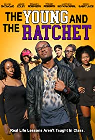 Chyne Okonkwo, Becky Babatunde, Matthew Boykin-Derrill, James Coley, Malachi Elias, and Trevor Roberts in Young and the Ratchet (2021)