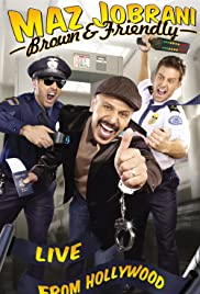 Maz Jobrani: Brown & Friendly Poster
