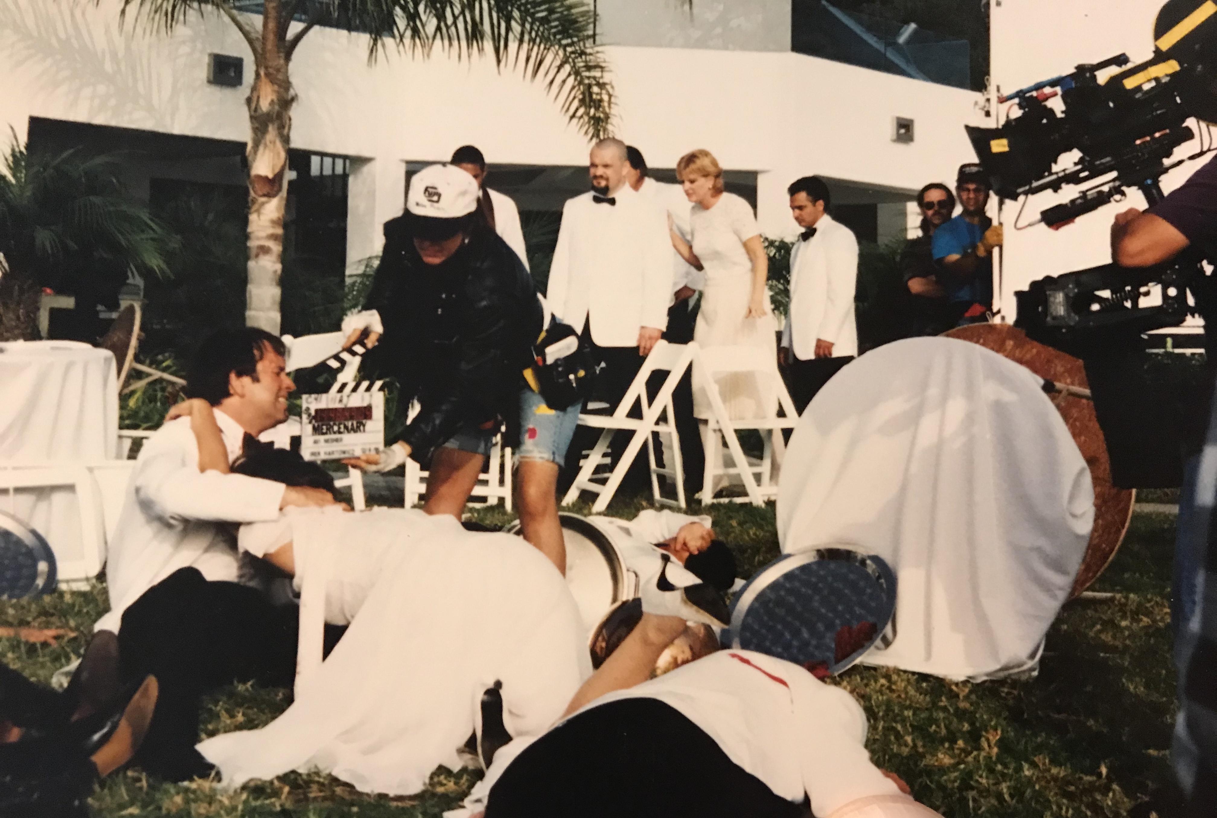 John Ritter and Lara Harris in Mercenary (1996)