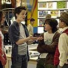 Munro Chambers, Demetrius Joyette, Zoë Belkin, and Justin Kelly in The Latest Buzz (2007)