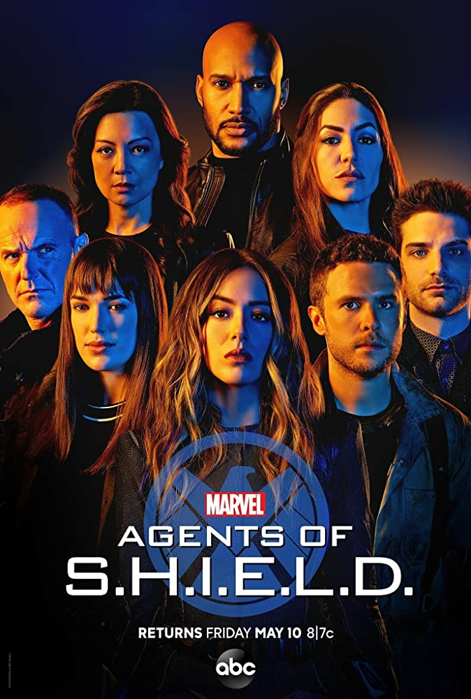 Poster serial tv Agents of SHIELD.