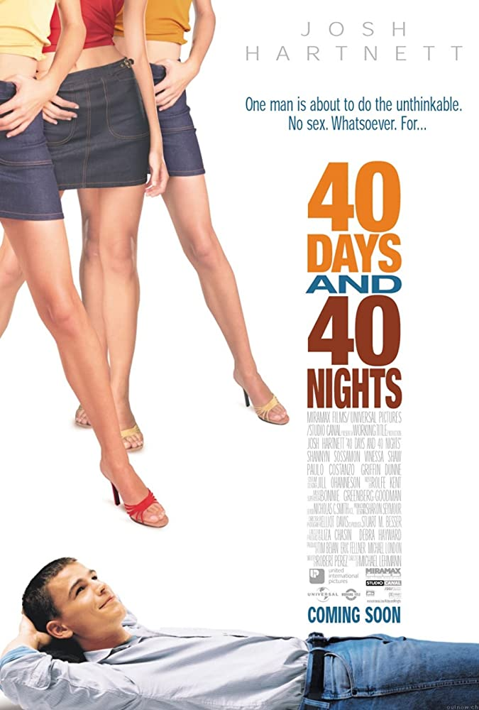 40 Days and 40 Nights (2002) Hindi Dubbed 720p HDRIp Esubs DL