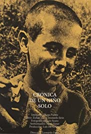 Crónica de un niño solo Poster
