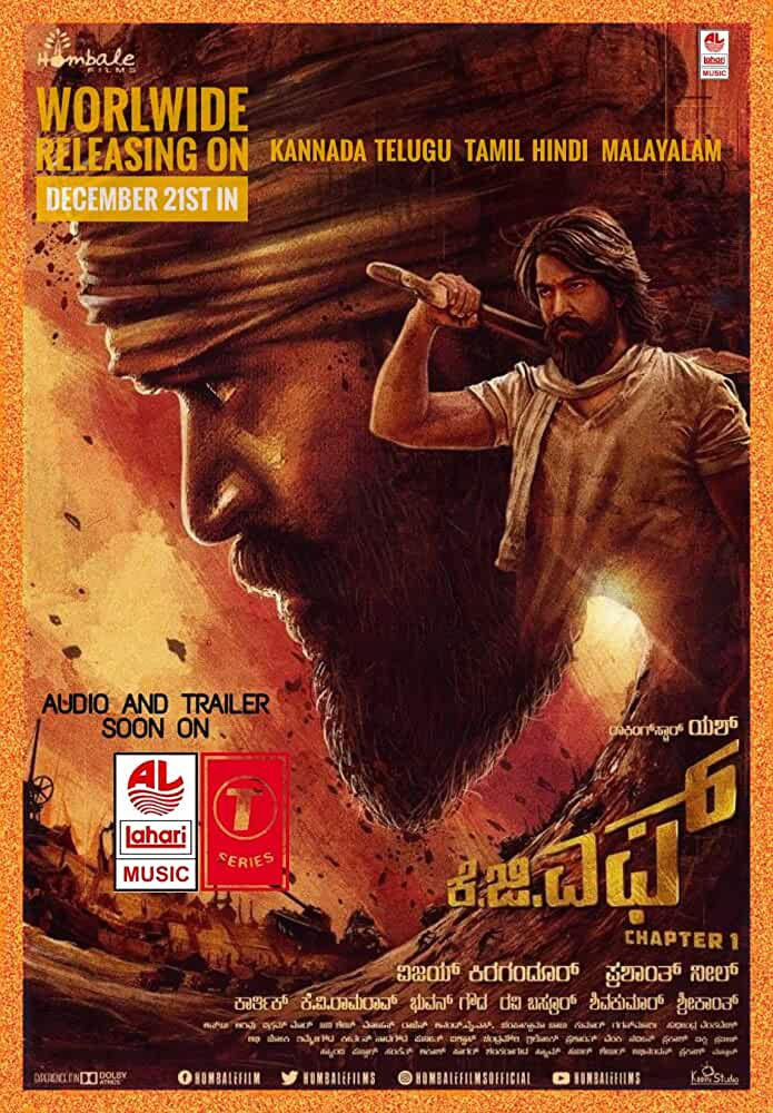 K.G.F (2018) Hindi Dubbed 720p WEb-DL
