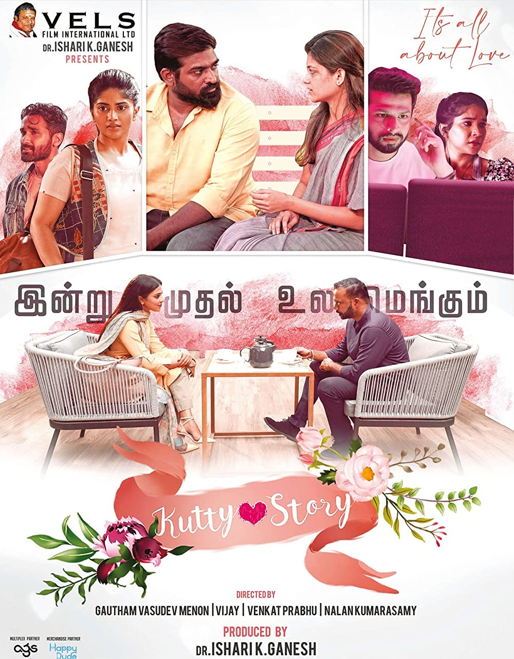 Kutty Story 2021 Tamil Movie 720p HDRip 1.4GB ESub x264 AAC