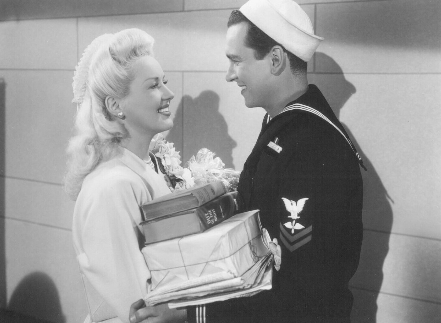 Betty Grable and John Harvey in Pin Up Girl (1944)