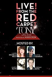Live from the Red Carpet: The 2016 Tony Awards Poster