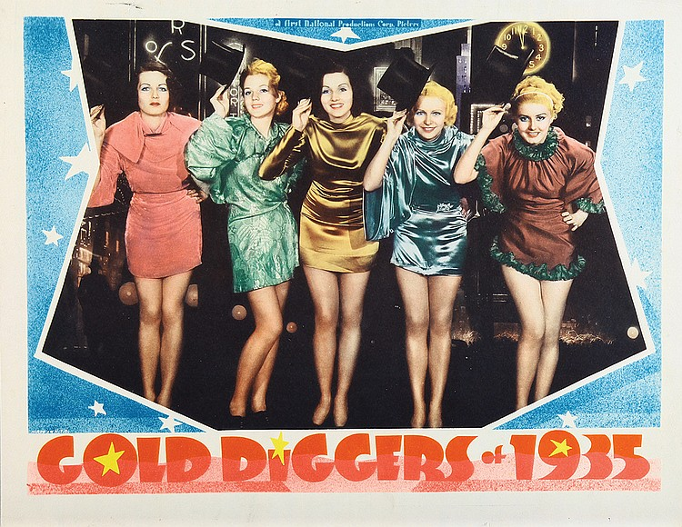 De Don Blunier, Margaret Carthew, June Glory, Peggy Graves, and Emily LaRue in Gold Diggers of 1935 (1935)