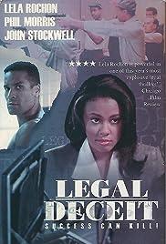 Legal Deceit Poster