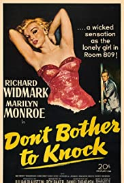 Don't Bother to Knock Poster