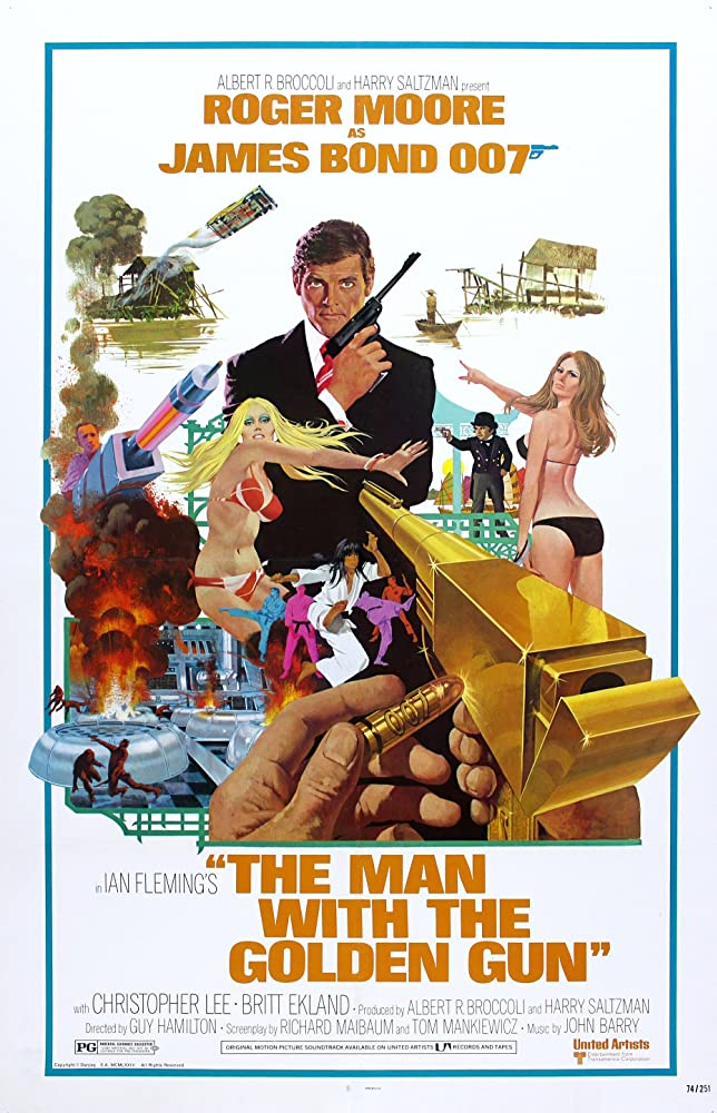 The Man with the Golden Gun (1974) Hindi Dubbed
