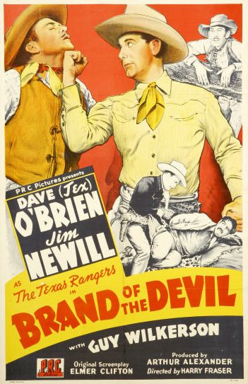 Reed Howes, Charles King, James Newill, Dave O'Brien, and Guy Wilkerson in Brand of the Devil (1944)