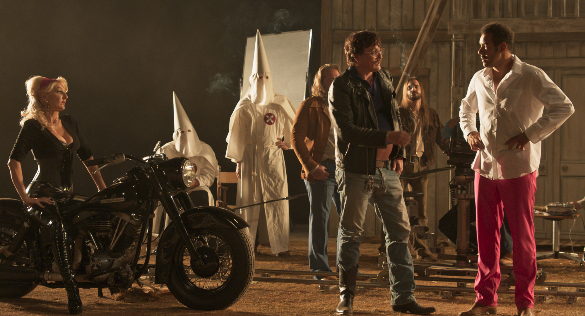 Oliver Masucci, Désirée Nick, Michael Klammer, and Ingo van Gulijk in Enfant Terrible (2020)