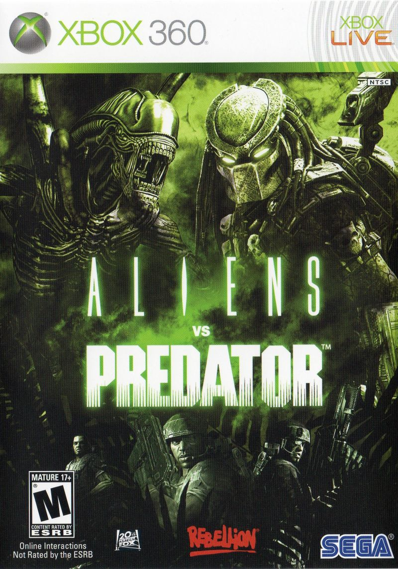 Aliens Vs Predator Video Game 2010 Imdb