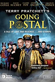 Charles Dance, Richard Coyle, Tamsin Greig, Andrew Sachs, David Suchet, Ian Bonar, and Claire Foy in Going Postal (2010)