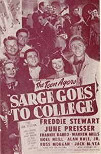 Downloading dvd free movie new Sarge Goes to College by Arthur Dreifuss [4K]