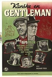 Perhaps a Gentleman Poster