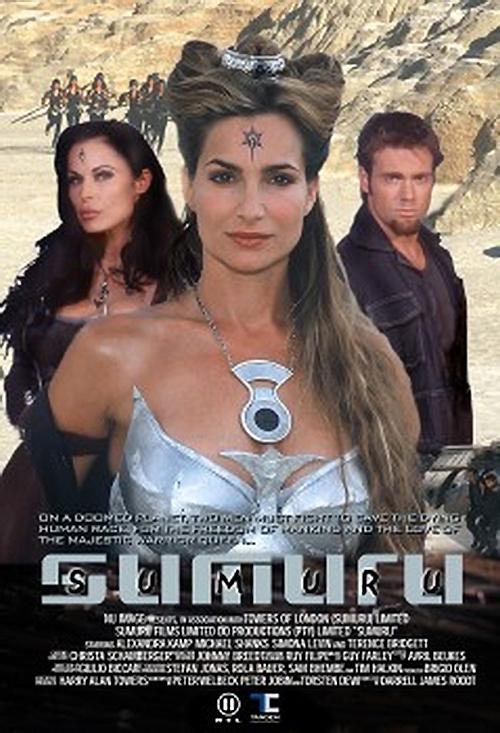 Alexandra Kamp, Simona Williams, and Michael Shanks in Sumuru (2003)