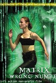 Matrix. Wrong Number Poster