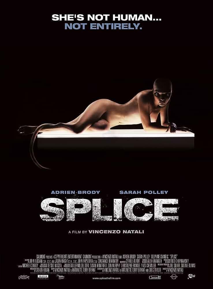 Splice 2009 Bluray Dual Audio Hindi 720p R Rated