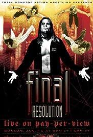 TNA Wrestling: Final Resolution Poster