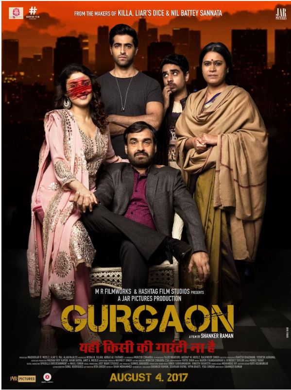Gurgaon 2017 Hindi 720p HDRip 900MB ESubs Free Download