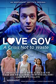 Mai Le, Katie Janner, Jonathan Flanders, and Kevin Olliff in Love Gov 2: A Crisis Not to Waste (2018)