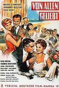 Magda Schneider, Ivan Desny, Johannes Heesters, Hans Nielsen, and Ann Smyrner in Von allen geliebt (1957)