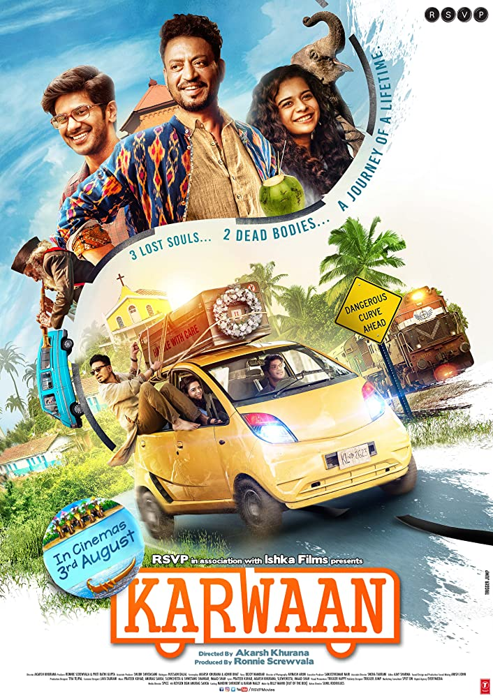Karwaan (2018) Hindi 720p HQ Pre-DVDRip x264 999MB