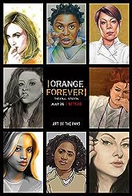 Kate Mulgrew, Selenis Leyva, Laura Prepon, Taylor Schilling, Uzo Aduba, Dascha Polanco, and Danielle Brooks in Orange Is the New Black (2013)