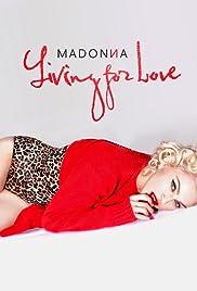 Madonna: Living for Love Poster