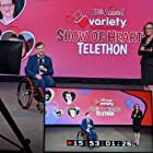 Marco Pasqua and Jody Vance hosting a segment on the 2021 Show of Hearts Telethon
