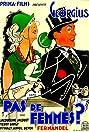 Pas de femmes (1932) Poster