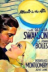 John Boles and Gloria Swanson in Music in the Air (1934)