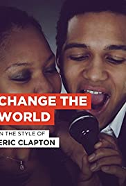 Eric Clapton: Change the World Poster