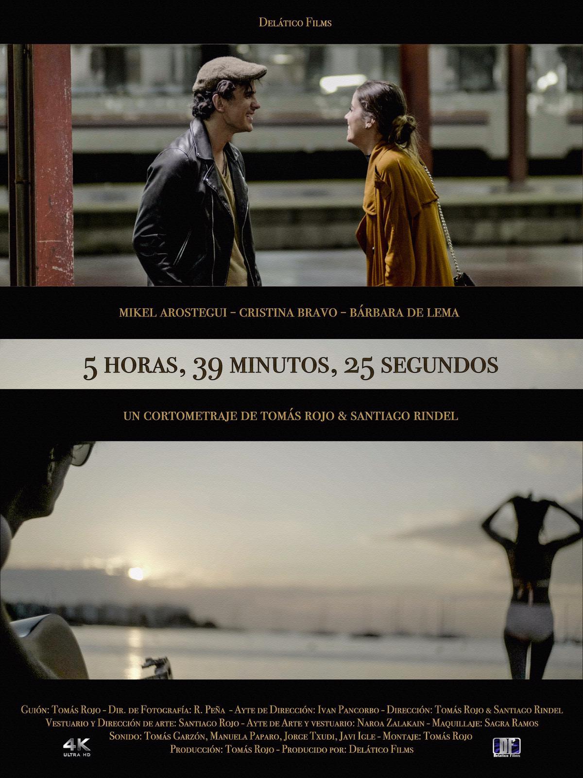 Bárbara de Lema, Tomás Rojo, Mikel Arostegui Tolivar, and Cristina Bravo in 5 horas 39 minutos 25 segundos (2019)