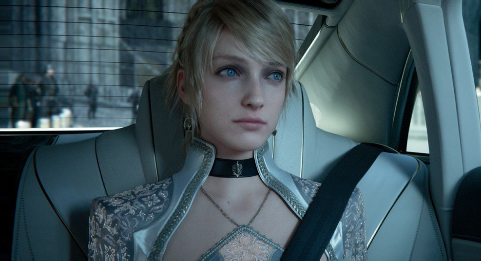 Lena Headey in Kingsglaive: Final Fantasy XV (2016)