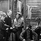 Dran Hamilton, Michael J. Pollard, and Willard Sage in Dirty Little Billy (1972)