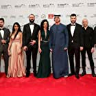 Rami Yasin, Ali Suliman, Ali F. Mostafa, Maisa Abd Elhadi, Rakeen Saad, Samer Ismail, and Mahmoud Al Atrash at an event for The Worthy (2016)