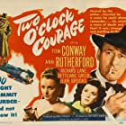 Tom Conway, Jean Brooks, and Ann Rutherford in Two O'Clock Courage (1945)