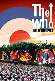 The Who Live in Hyde Park Poster