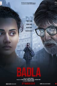 Amitabh Bachchan and Taapsee Pannu in Badla (2019)