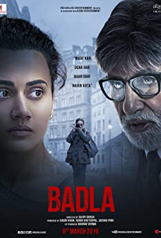 Amitabh Bachchan and Tapsee Pannu in Badla (2019)