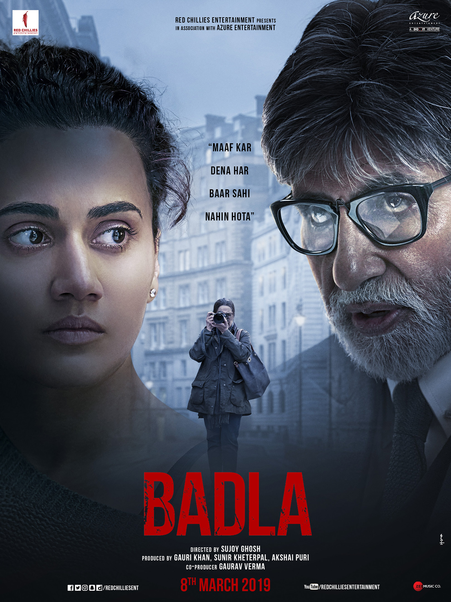 Badla (2019) WEBRip 720p & 1080p