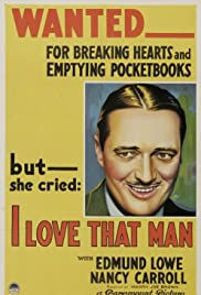 I Love That Man Poster