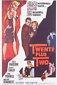 Jeanne Crain and David Janssen in Twenty Plus Two (1961)